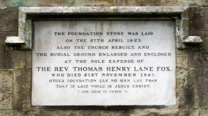 Sturminster Newton St Mary's Church Foundation Stone